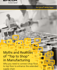 """Myths and Realities 190x230 - Myths and Realities of """"Top to Shop"""" in Manufacturing"""