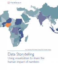 Data Storytelling Cover Image 190x230 - Data Storytelling - Using Visualization to Share the Human Impact of Numbers