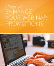 7 ways to enhance your Webinar promotions 190x230 - 7 Ways to Enhance your Webinar Promotions