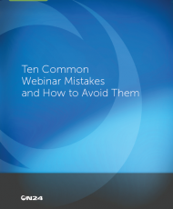 Ten common webinar mistakes and how to avoid them 190x230 - TEN COMMON WEBINAR MISTAKES AND HOW TO AVOID THEM