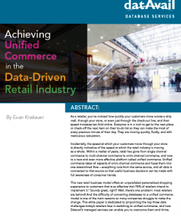 Datavail Retail Cover 1 260x320 - Top 5 Database Challenges in Restaurant Industry