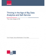 Thriving in the Age of Big Data Analytics and Self-Service – The new shape of BI