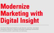 Infographic: Modernize Marketing with Digital Insight