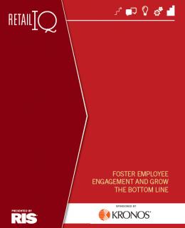 467813 RETAIL Nov Roadmap Foster Employee Engagement Cover 260x320 - Foster Employee Engagement and Grow the Bottom Line