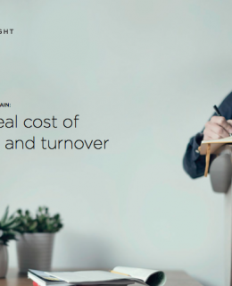 RECRUIT VS. RETAIN: The real cost of hiring and turnover