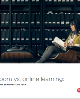 Classroom vs. online learning