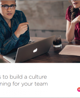 5 ways to build a culture of learning for your team