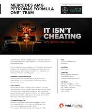 Mercedes Petronas Customer Case Study