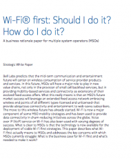 Wi-Fi® first: Should I do it? How do I do it?