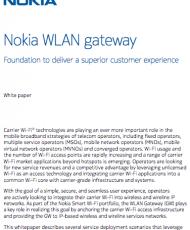 Nokia WLAN gateway
