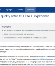 Delivering a quality cable MSO Wi-Fi experience