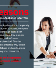 Top 5 Reasons Oracle Database Appliance is for You