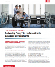 "Delivering ""easy"" to midsize Oracle database environments"