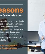 5 Reasons – Oracle Database Appliances is for you
