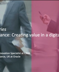 Next Generation Finance: Creating value in a digital age
