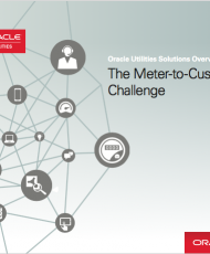 Oracle Utilities Solutions Overview – The Meter-to-Customer Challenge