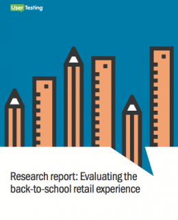 Research report: Evaluating the back-to-school retail experience