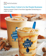 Success Story: Culver's In the People Business