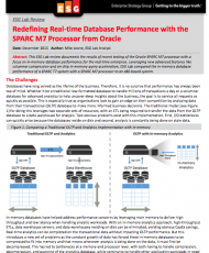 Redefining Real-time Database Performance