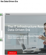 Webcast: The IT Infrastructure Roadmap for the Data-Driven Era
