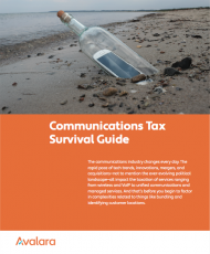 Communications Tax Survival Guide