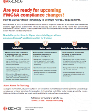 Guide: Are you ready for upcoming FMCSA compliance changes?