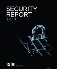 SECURITY REPORT 2017