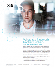 What is a Network Packet Broker?