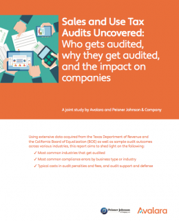 Sales and Use Tax Audits Uncovered
