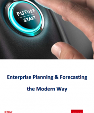 Enterprise Planning and Forecasting the Modern Way