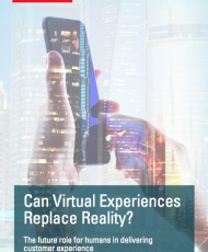 Can Virtual Experiences Replace Reality?