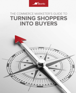 TURNING SHOPPERS INTO BUYERS
