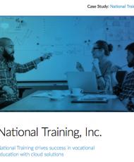 Case Study: National Training, Inc.
