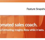 Meet your automated sales coach