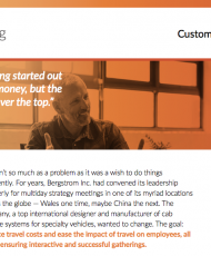 GoToMeeting – Customer Success Snapshot