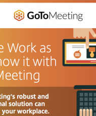 Elevate Work as You Know it with GoToMeeting