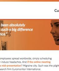 GoToMeeting – Euromonitor Customer Success Snapshot