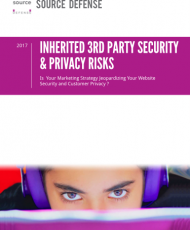 INHERITED 3RD PARTY SECURITY &PRIVACY RISKS