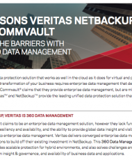 Top Reasons Veritas Beats Commvault