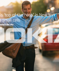 Operator is 'top of the heap' in New York with Nokia small cells