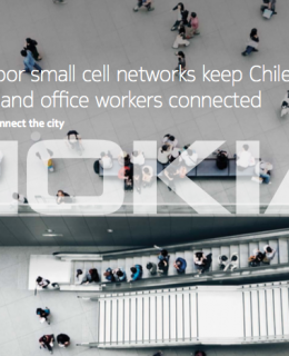 Large indoor small cell networks keep Chilean shoppers and office workers connected