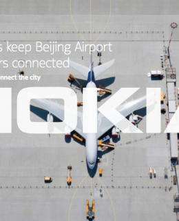 Small cells keep Beijing Airport passengers connected