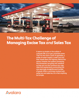 The Multi-Tax Challenge of Managing Excise Tax and Sales Tax