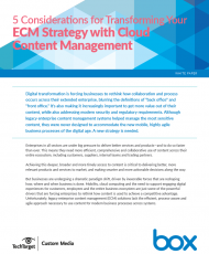 515951 TechTarget 5 Considerations for Transforming your ECM Strategy with Cloud cover 190x230 - 5 Considerations for Transforming ECM with Cloud Content Management