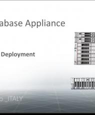 ODA Demo Video  ITALY cover 190x230 - Installazione Semplice e Veloce di Oracle Database Appliance
