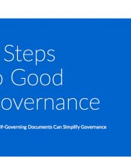 5 Steps to Good Governance