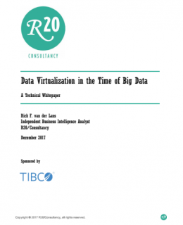 Data Virtualization in the Time of Big Data