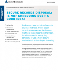 3 7 190x230 - Secure Records Disposal: Is Not Shredding Ever A Good Idea?
