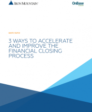 1 4 190x230 - 3 Ways to Accelerate and Improve the Financial Closing Process