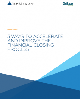 1 4 260x320 - 3 Ways to Accelerate and Improve the Financial Closing Process